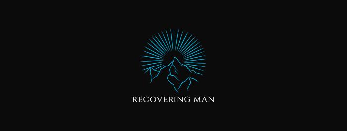 Recovering Man logo long